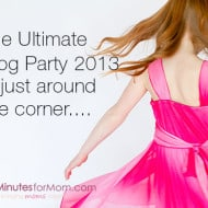 Wordless Wednesday — The Ultimate Blog Party 2013 is Just Around the Corner…