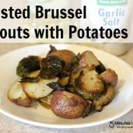 Roasted Brussel Sprouts and Potatoes