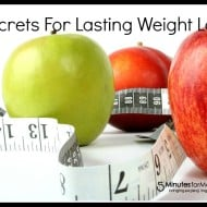 8 Secrets For Lasting Weight Loss