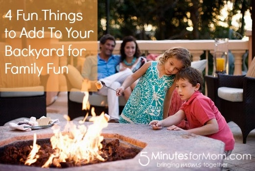 4 Fun Things To Put In Your Backyard Bring Family Together