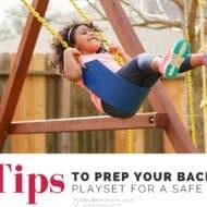 8 Tips to Prep Your Backyard Playset for a Safe Spring Season