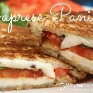 Caprese Panini #Recipe