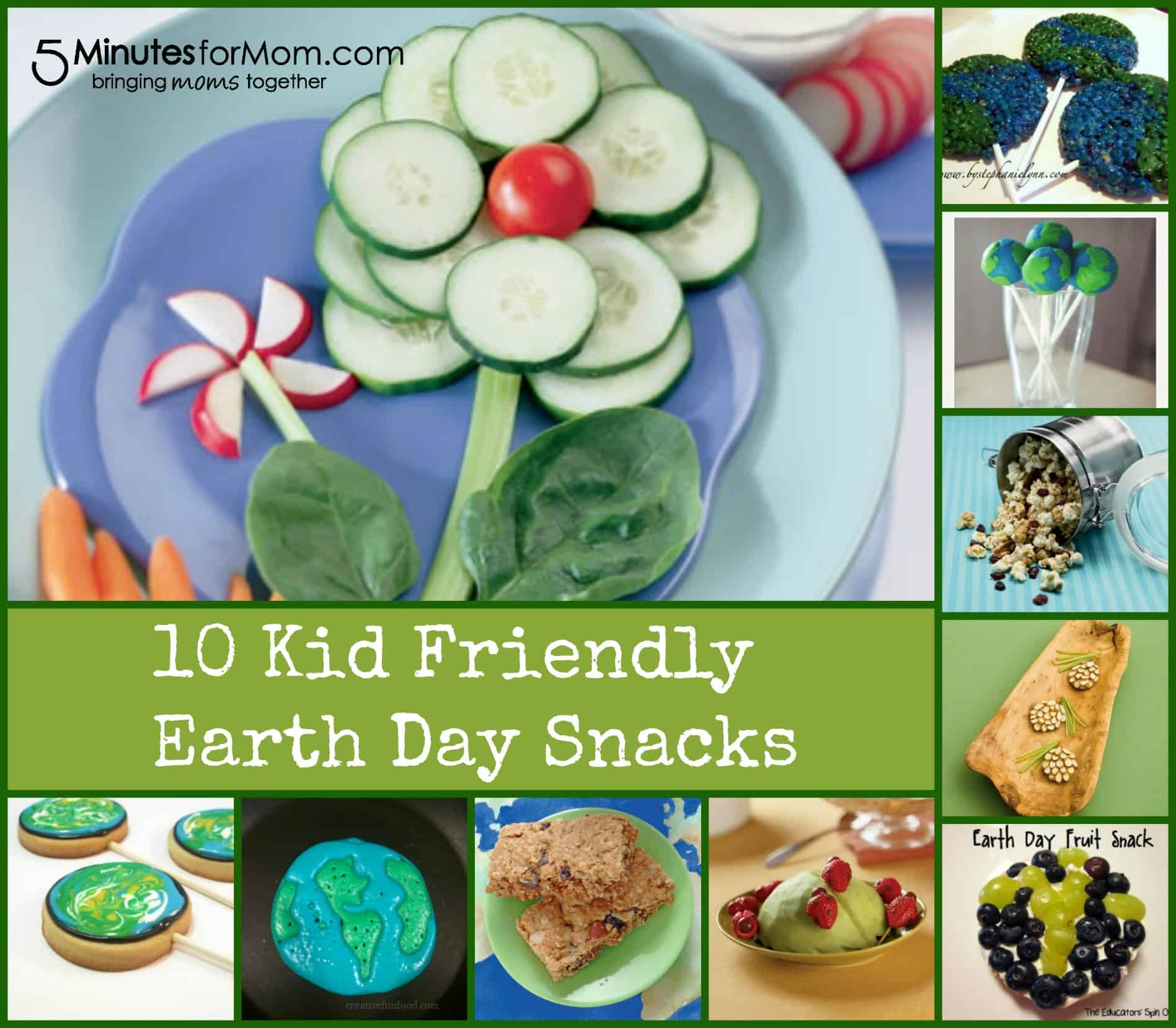 kid friendly earth day snacks   5 minutes for mom