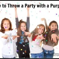 How to Throw a Party with a Purpose