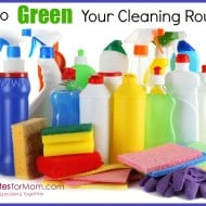 Tackle it Tuesday- Greening Up Your Cleaning Routine