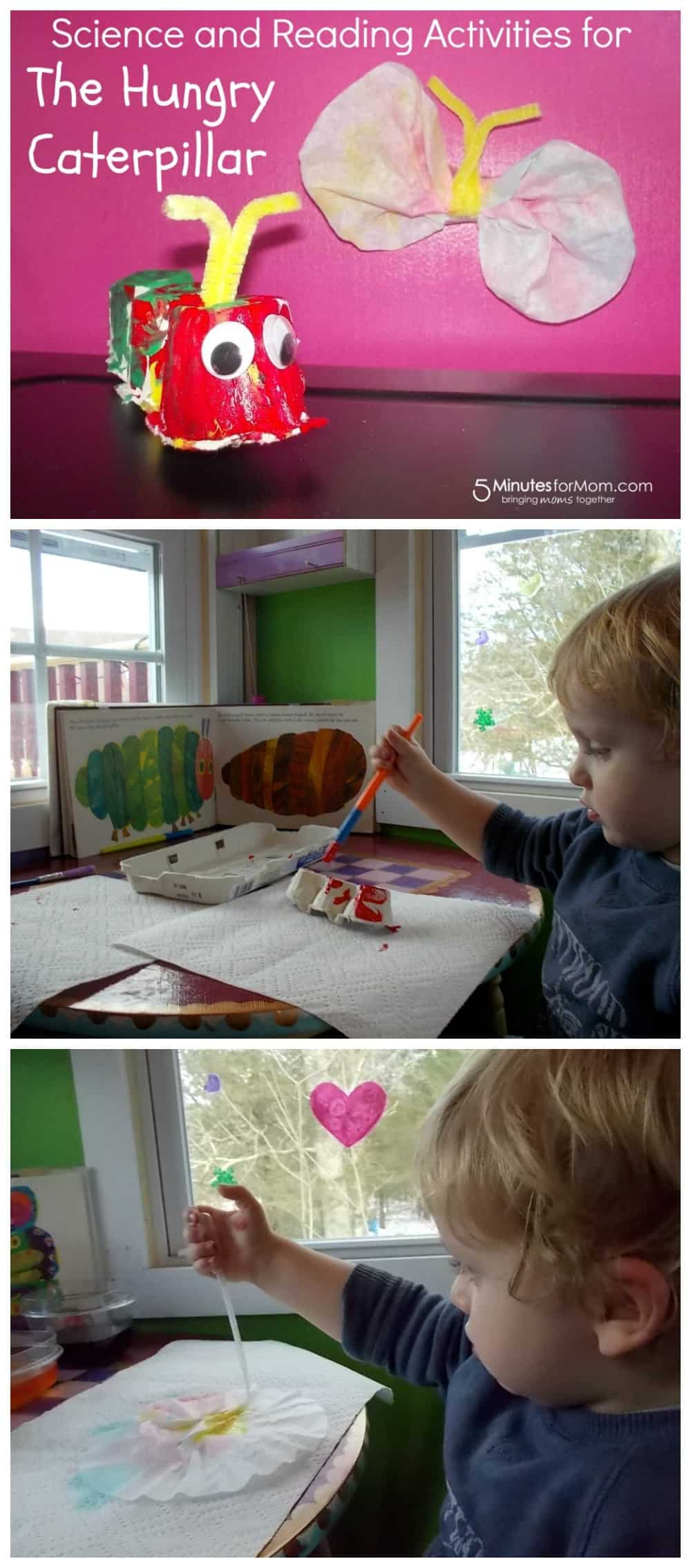 Science and Reading Activities for The Hungry Caterpillar