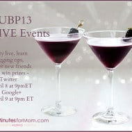 Join Us for Our Live UBP13 Events on Twitter and Google+
