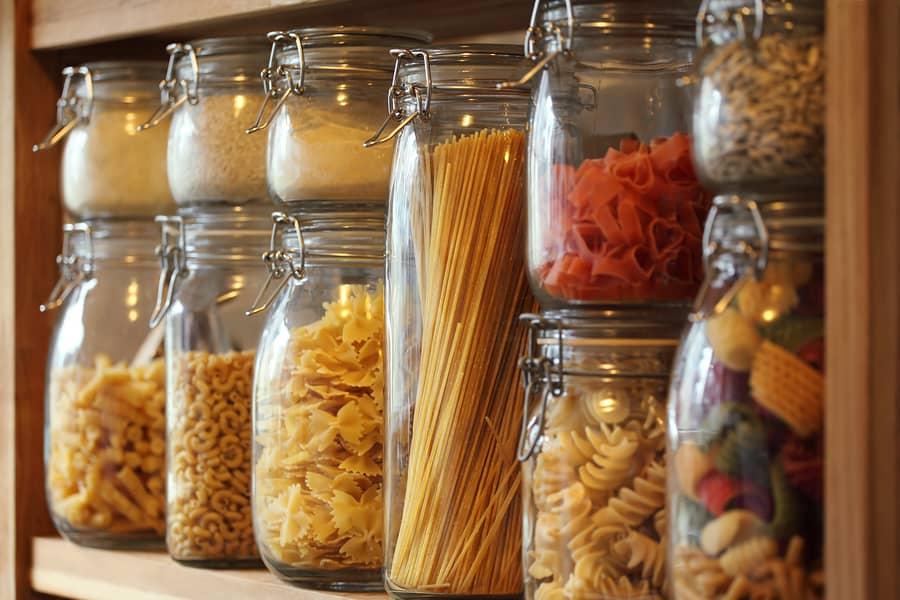 bigstock Dried Pasta In Jars On A Shelf 19981862 1