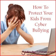 How To Protect Kids From Cyber Bullying