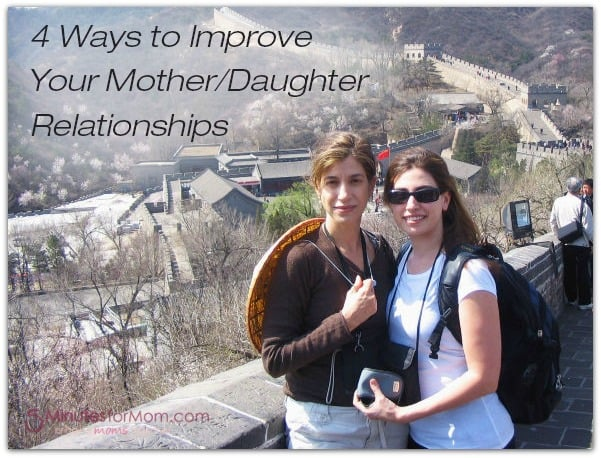 4 Ways to Improve Your Mother-Daughter Relationships - Claire Fontaine
