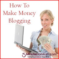 How To Make Money Blogging – #WorkAtHome Moms Strategy Hour
