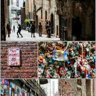 Wordless Wednesday — Seattle's Gum Wall