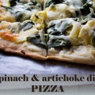 The Ultimate Party Food – Spinach Artichoke Dip Pizza