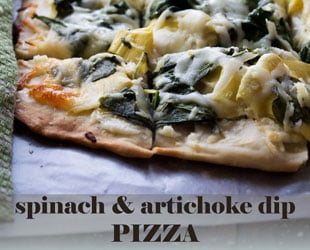 Spinach Artichoke Dip Pizza – Ultimate Party Food