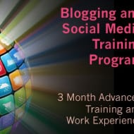 New Blogging and Social Media Training Program – Accepting Applications Now