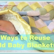2 Ways to Reuse Baby Blankets
