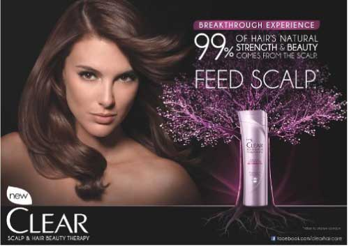 nourish your scalp with clear scalp  u0026 hair therapy
