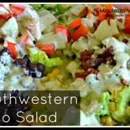 Southwestern Taco Salad with Cilantro Lime Dressing