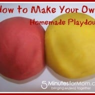 Tackle it Tuesday- Tackling Homemade Playdough