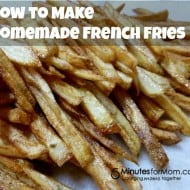 Sometimes You Just Have to Eat the French Fries (Giveaway)