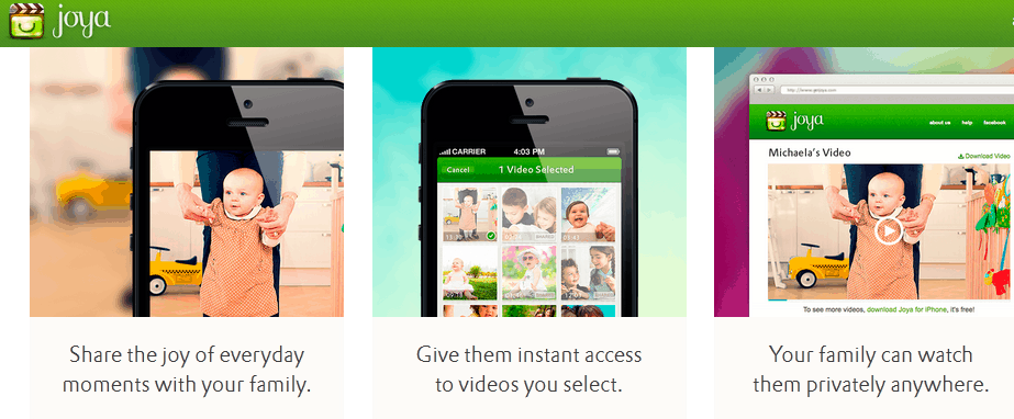 Sharing Videos is Easy with the Joya iPhone App - 5 Minutes for Mom
