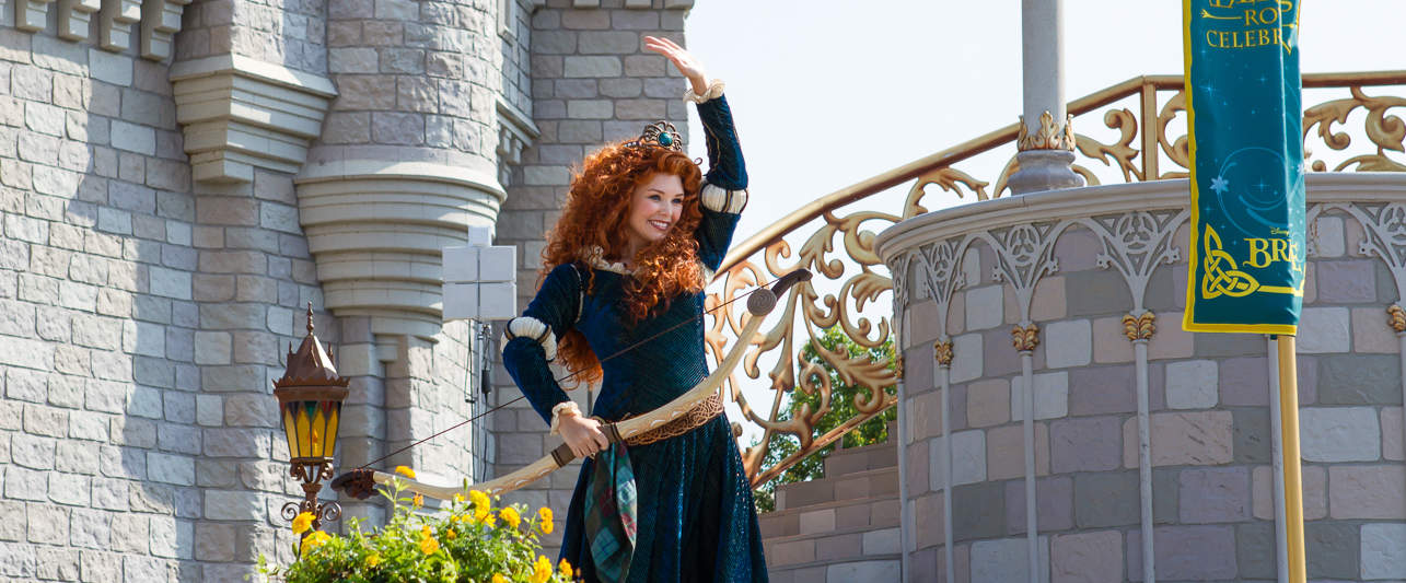 Thumbnail image for Princess Merida's Induction into the Disney Princess Royal Court