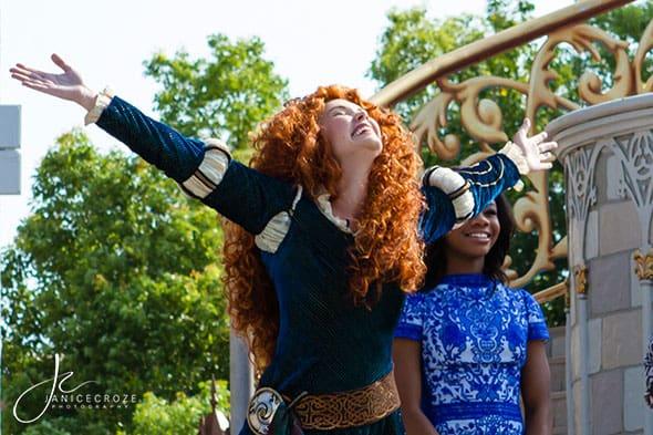 Merida Induction into Disney Princess Royal Court