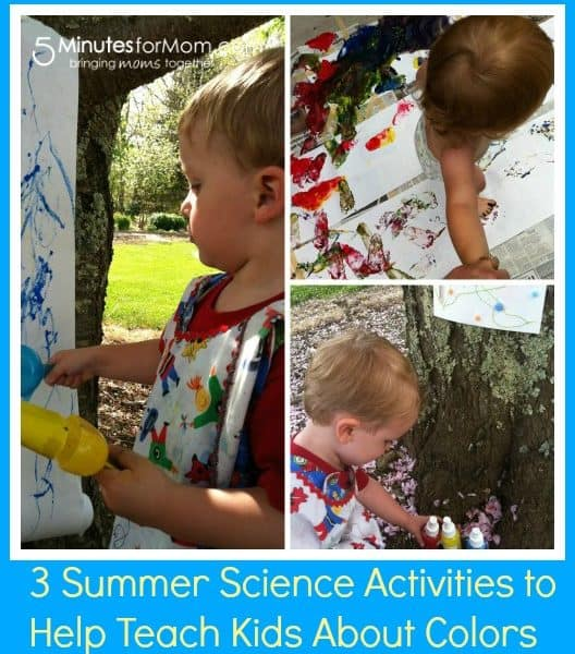 3 Summer Science Activities to Teach Your Kids About Colors