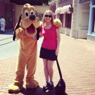 Wordless Wednesday- Hanging Out with Goofy