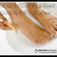 How to Get Your Feet Ready for the Summer