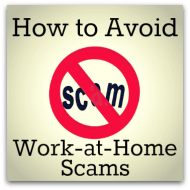 How To Avoid Work-at-Home Scams