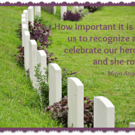 Celebrating our Heroes and She-roes