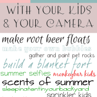 Spend the Summer with Your Kids and Your Camera
