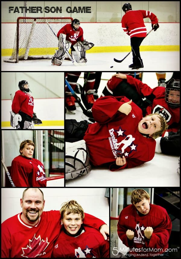 Father-Son-Hockey