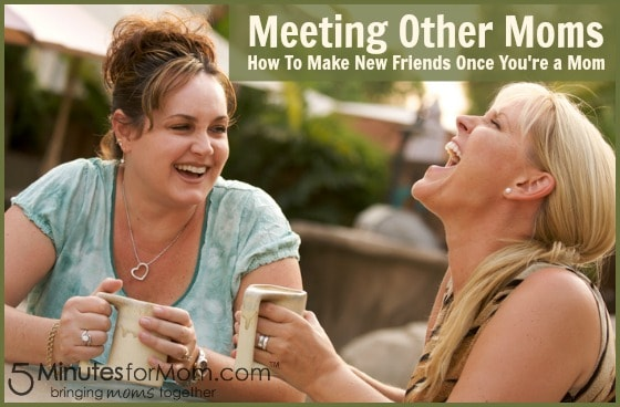 Meeting Other Moms