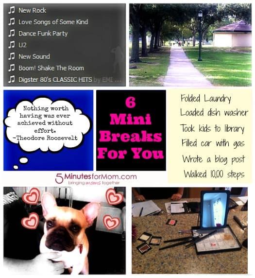 6 Mini Breaks For You by @pamelamkramer