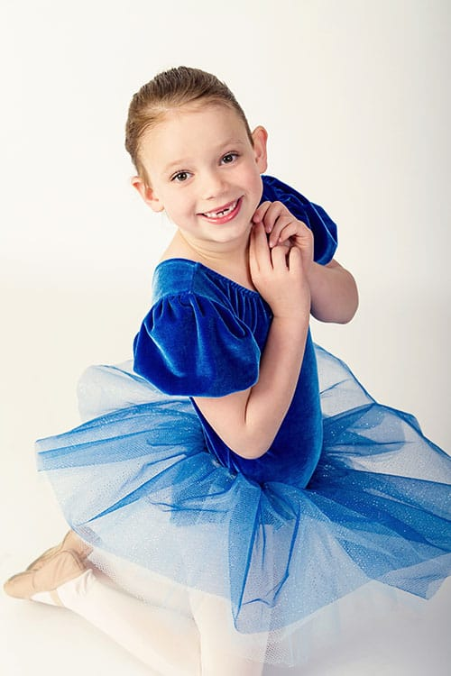 Ballet Costume - Blueberry Muffin
