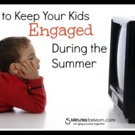 Keeping Your Kids Engaged During the Summer