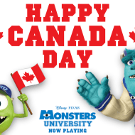 Happy Canada Day from Monsters University #monstersu – LinkUp!
