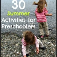 30 Summer Activities for Preschoolers