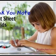 Tackle it Tuesday – The Dreaded Thank You Note