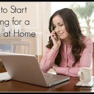 How To Start Looking For A Work-At-Home Job
