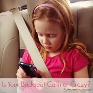 What is Life Like in Your Backseat? Calm or Crazy? #SubaruBackseat