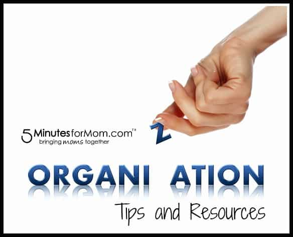 organize tips and resources