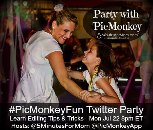 PicMonkey Twitter Party — #PicMonkeyFun