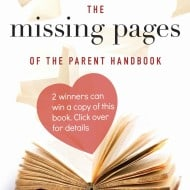 The Missing Pages of the Parent Handbook – #Giveaway #ad