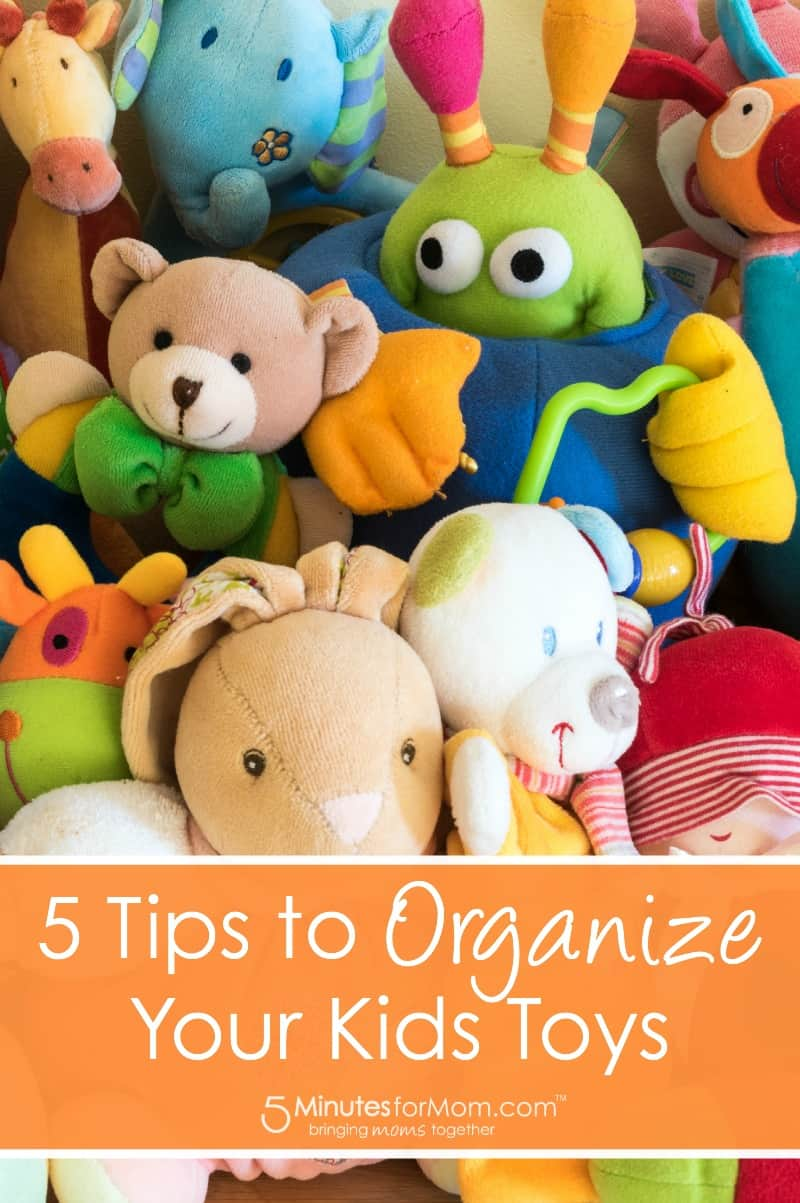 5 Tips to Organize Your Kids Toys