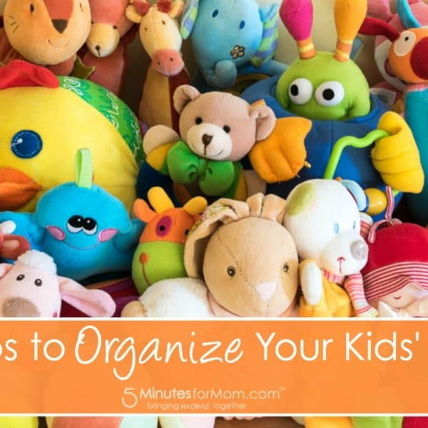 5 Tips to Organize Your Kids' Toys