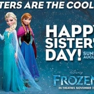 Happy Sister's Day from #disneyfrozen