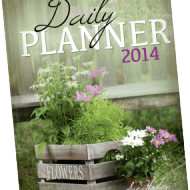 Get Organized with Homemaker's Friend Daily Planner 2014 #giveaway